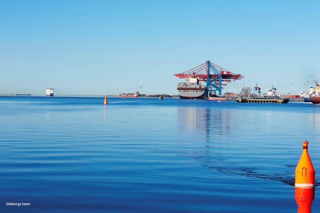 Avkodat containerfartyg